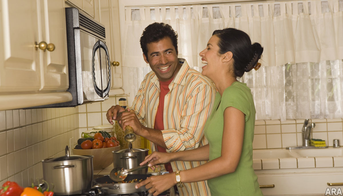 Newlyweds-Learning to Cook For Two