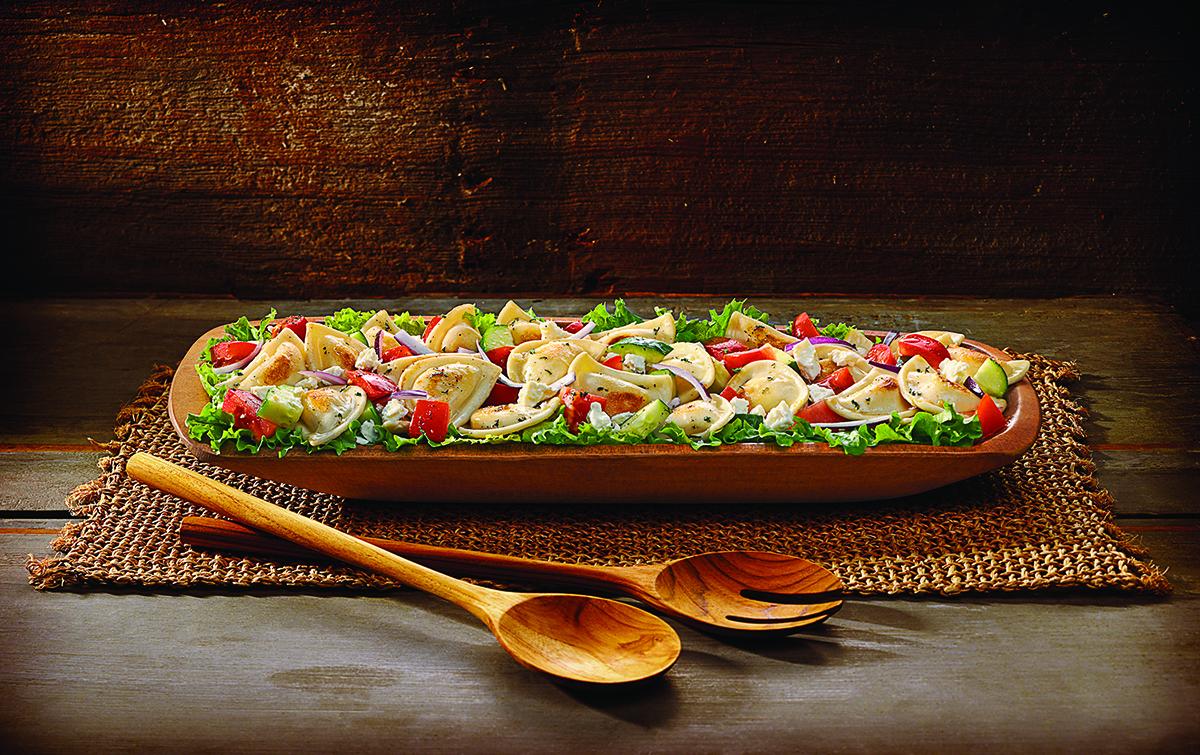 Farmers Market Mini-Pierogy-Salad