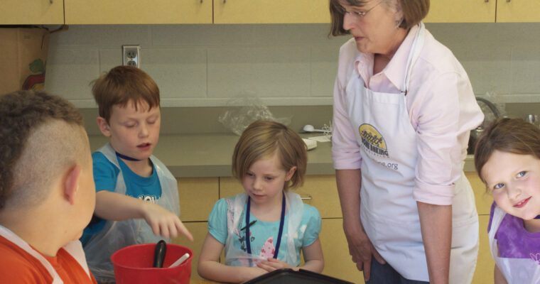 How baking serves up a batch of skills for children, tweens and teens